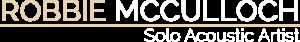 Robbie McCulloch Solo Acoustic Artist Logo